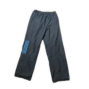 Adidas Medium Blue Navy Three Stripes Windbreaker